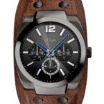s.Oliver Herren-Armbanduhr Casual Analog Quarz Leder SO-2502-LM B008IDWHG6