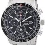 Seiko Herren-Armbanduhr XL Solar Chronograph Edelstahl SSC009P1 B005I2KDTS