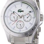 Lacoste Damen-Armbanduhr MACKAY Analog Quarz Edelstahl 2000840 B00JJRGRBG