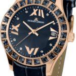 Jacques Lemans Damen-Armbanduhr Rome Analog Quarz Leder 1-1571ZI B00EZS4DHE