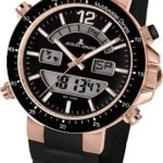 JALE5|#Jacques Lemans Jacques Lemans Unisex-Armbanduhr Milano Analog – Digital Silikon 1-1712Y B007IS1XEE