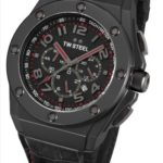 TW Steel Herren-Armbanduhr XL CEO TECH Chronograph Quarz Leder TWCE4009 B00AGCVG6E