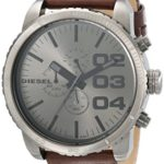 Diesel Herren-Armbanduhr XL Franchise-51 Chronograph Quarz Leder DZ4210 B004Y4ZB5M