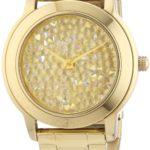 DKNY Damen-Armbanduhr XL Analog Quarz Edelstahl beschichtet NY8437 B0060AYSZM
