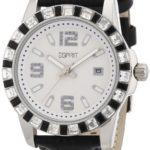 Esprit Damen-Armbanduhr Analog Quarz Leder A.ES103342006 B004RAO1PO