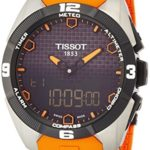 TISSOT T-TOUCH EXPERT SOLAR Herrenuhr T0914204705101 orange B00KF5POA6