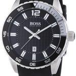 Hugo Boss Herren-Armbanduhr XL Analog Quarz Silikon 1512888 B00BR0B038