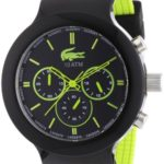 Lacoste Herren-Armbanduhr XL Analog Quarz Silikon 2010650 B008U798K8