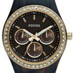 Fossil Damen-Multifunktonsuhr Dress Stella Schildpatt ES2795 B004SHR48W