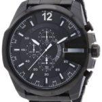 Diesel Herren-Armbanduhr XL Mega Chief Chronograph Quarz Edelstahl beschichtet DZ4283 B00B8EAYJ4