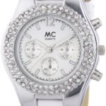 MC Timetrend Damen-Armbanduhr Chrono-Optik Analog Quarz Leder 50867 B00IMB4AP0