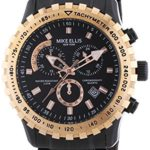 Mike Ellis New York Herren-Armbanduhr XL Chronograph Quarz 17987 B00HCBCXLO