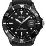 s.Oliver Herren-Armbanduhr XL Analog Quarz Silikon SO-2677-PQ B00BKVYTT6