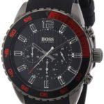 Hugo Boss Herren-Armbanduhr XL Chronograph Quarz Silikon 1512901 B00CBWPZU0