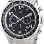 Tommy Hilfiger Watches Tommy Hilfiger Herren-Armbanduhr City Classic XL Analog Quarz Edelstahl 1790939 B00ENWSDVE