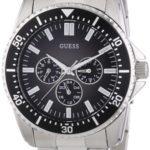 Guess Herren-Armbanduhr XL Mens Sport Analog Quarz Edelstahl W10245G4 B003YH5RMC