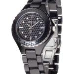 Detomaso Damen-Armbanduhr XS FEDERICA Black Ladies Analog Quarz Keramik DT3010-A B00AJCW034