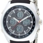 MC Timetrend Herren-Armbanduhr Analog – Digital Quarz Metallband 26332 B0032T6CPS