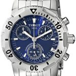 Tissot Mens PRS200 Stainless Steel Blue Face T17148644 B000HDBBY4