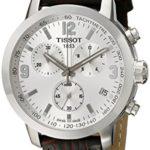 Tissot Herren-Armbanduhr XL Chronograph Quarz Leder T055.417.16.037.00 B00A4A0IFS