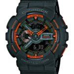 Casio Herren-Armbanduhr XL G-Shock Analog – Digital Quarz Resin GA-110TS-1A4ER B00IAOKWKG