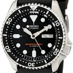 Seiko Automatic Taucher SKX007J1, Schwarzes Kautschukband, 200M – Made in Japan B000RF6QRY