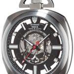 Detomaso Herren-Armbanduhr TASCA Skeleton Taschenuhr Skull Trend Analog Handaufzug DT2059-D B00RBO11G0