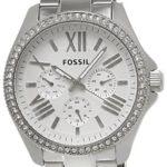 Fossil Damen-Armbanduhr Retro Traveler Analog Quarz Edelstahl AM4481 B00BPJHJYK