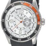 Esprit Herren-Armbanduhr XL Varsity Orange Analog Quarz Kautschuk ES104131001 B00BU07QPG