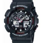 Casio Herren Big Combi G-Shock Watch, Schwarz B00R0HYBV0