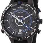 Timex Herren-Armbanduhr XL Timex IQ Tide Temp Compass Analog Quarz Kautschuk T49859D7 B004LKRTD6