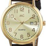 MC Timetrend Herren-Armbanduhr XL Analog Quarz Leder 27463 B00PUHNRBM