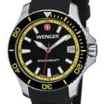 Wenger Damen-Armbanduhr Seaforce Analog Quarz Silikon 01.0621.101 B008OSOTDY