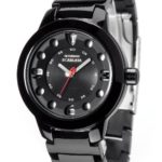 Detomaso Damen-Armbanduhr SCARLATA Black Ladies Analog Quarz Plastik DT3018-A B00APTWG3A