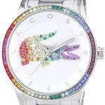 Lacoste Damen-Armbanduhr VICTORIA Analog Quarz Edelstahl 2000869 B00LX5RWU2