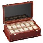 DeTomaso Trend Uhrenbox Grande braun für 18 Uhren WB-380-B B001BLE48Q