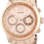 Guess Damen-Armbanduhr Chronograph Quarz Edelstahl W0330L2 B00ICMZHI8