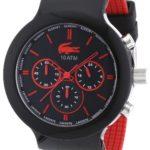 Lacoste Herren-Armbanduhr XL Analog Quarz Silikon 2010652 B008U798N0