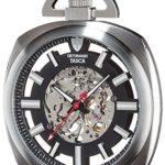 Detomaso Herren-Armbanduhr TASCA Skeleton Taschenuhr XXL Classic Analog Handaufzug DT2059-B B00RBO0WL0