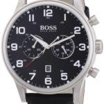 Hugo Boss Herren-Armbanduhr XL Analog Quarz Textil 1512919 B00FEGNEWG
