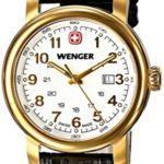 Wenger Damen-Armbanduhr XS URBAN CLASSIC PVD Analog Quarz Leder 01.1021.109 B00JQ6ZOKA