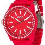 Edc Damen-Armbanduhr Stone Starlet Analog Quarz Plastik EE100752005 B005BBZI3W