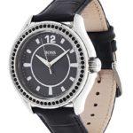Hugo Boss Damen-Armbanduhr Analog Quarz Leder 1502268 B008AWLOK0