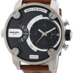 Diesel Herren-Armbanduhr XL SBA Chronograph Quarz Leder DZ7264 B009QAPELU