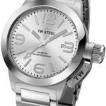 TW Steel Unisex-Armbanduhr Canteen Bracelet Analog edelstahl grau TW304 B009MPGUL2