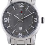Tommy Hilfiger Watches Herren-Armbanduhr XL GEORGE Analog Quarz Edelstahl 1710345 B00I4QXR98