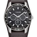 s.Oliver Herren-Armbanduhr Casual XL Chronograph Quarz Leder SO-2503-LM B008JZXZ9Q