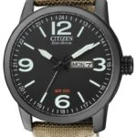 Citizen Herren-Armbanduhr XL Analog Quarz Nylon BM8476-23EE B00B3PXA6W