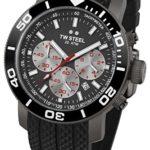 TW Steel Herren-Armbanduhr XL Diver Chronograph Quarz Kautschuk TW-705 B00GTPYF6U