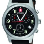 Wenger Herren-Armbanduhr Analog Edelstahl schwarz 72955W.XL B004O4C4XO